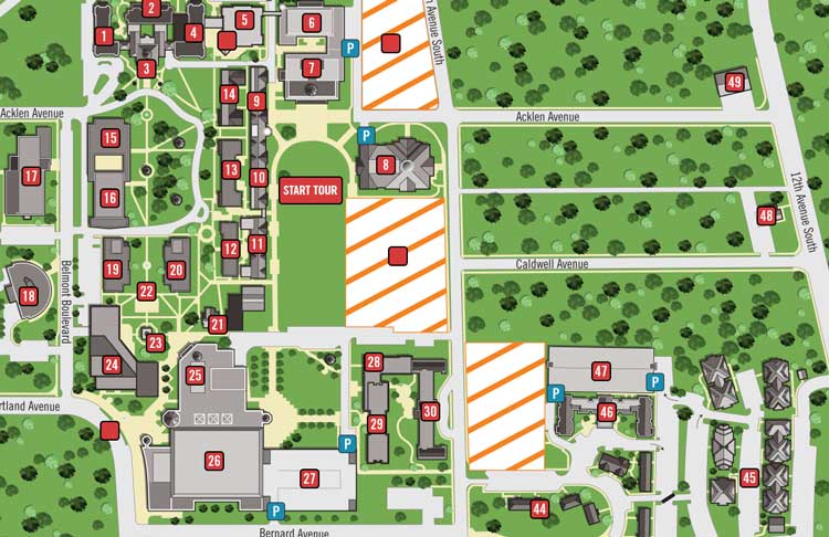 chaminade university campus map Custom Map Illustrations Nucloud chaminade university campus map