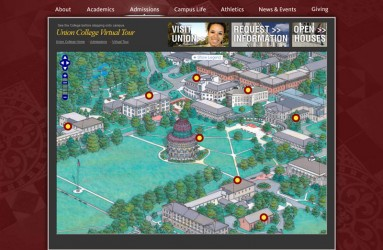 Union College's Map Page