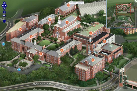 Why a PDF Campus Map Doesnt Cut It in 2012 – Manhattan Interactive Map
