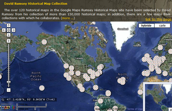 Blending The Past And The Present With Interactive Mapping