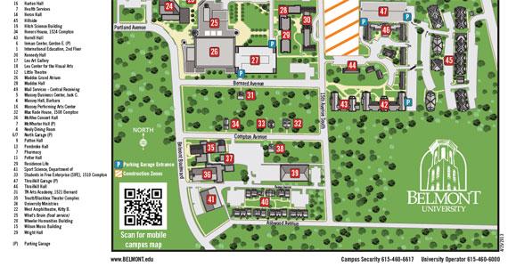Belmont University QR Code Example – nuCloud
