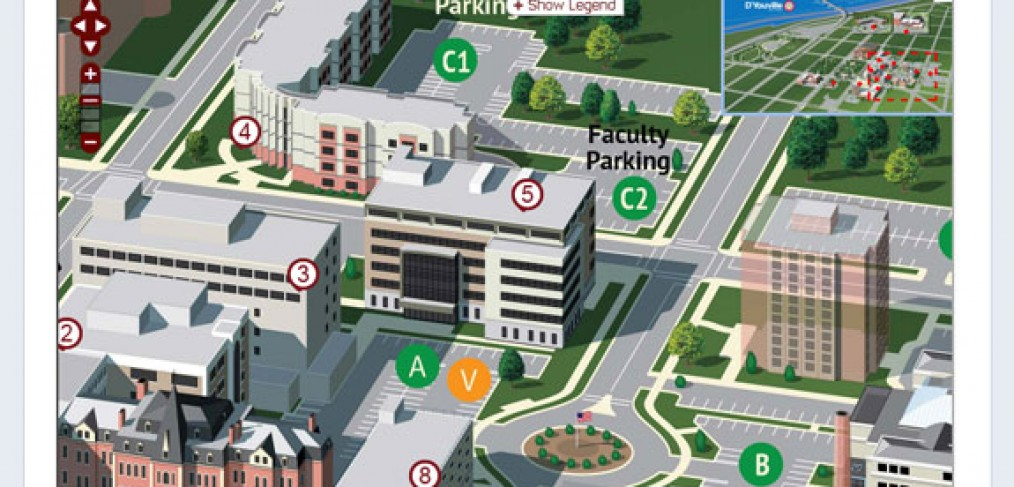D'Youville College Map on Facebook