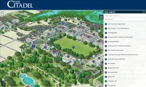 Citadel Campus Map The Citadel Campus Map Virtual Tour – nuCloud